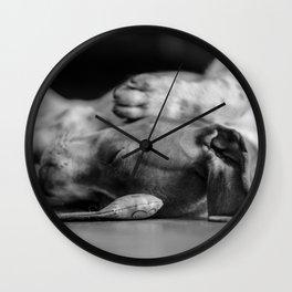 Sleep with me - Sleepy Beauty Wall Clock