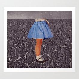 playing field Art Print