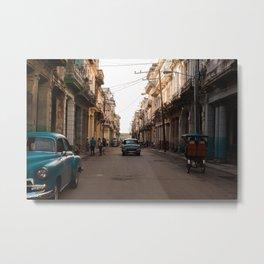 La Habana Vieja Metal Print