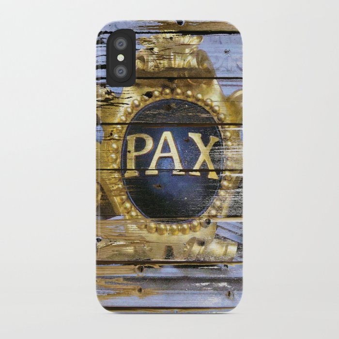 Planks for Peace iPhone Case