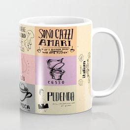 Italian For My Girlfriend - rrrrrude! edition Coffee Mug