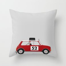 Mini - Monte Carlo Rally Throw Pillow