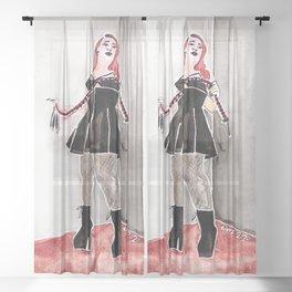 Lacey De La Kink Sheer Curtain