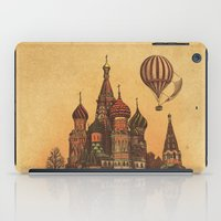 moscow iPad Cases featuring Moving to Moscow by Terry Fan