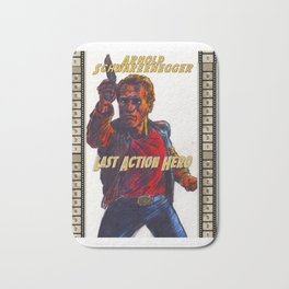Last Action Hero Bath Mat