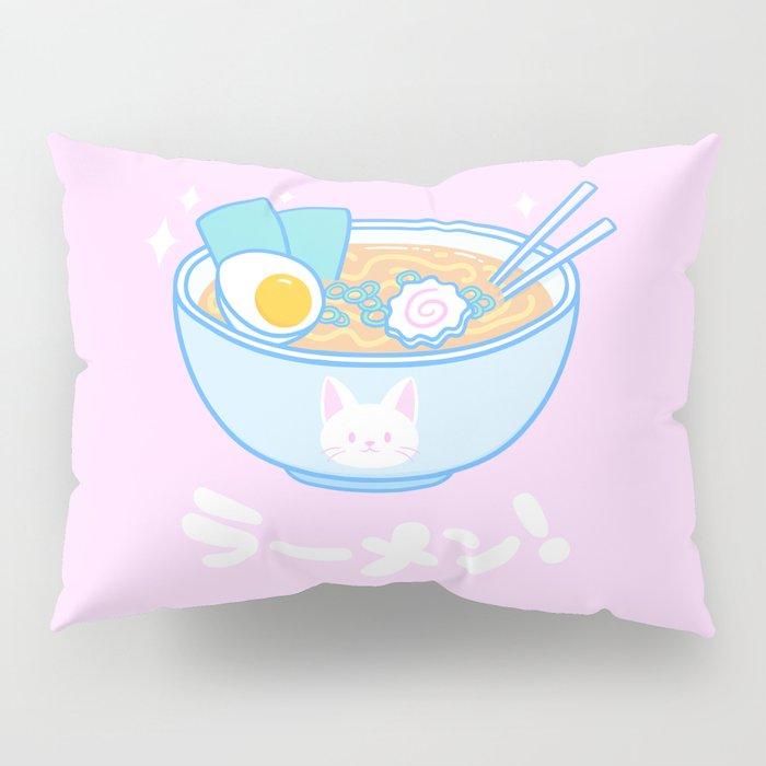 Cute Ramen Pillow Sham