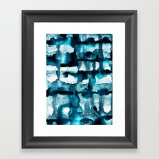 Watercolor 03 - Wild Sea Framed Art Print