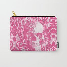 Bubblegum and Lace. Carry-All Pouch