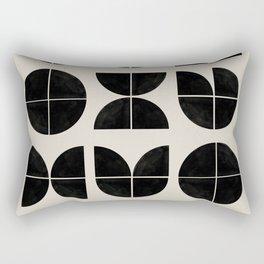 Bauhaus Style Art Rectangular Pillow