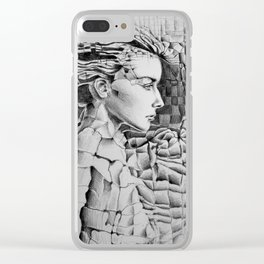 Materials Clear iPhone Case