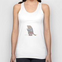 beaver Tank Tops featuring Dr Beaver by Yiting Lee