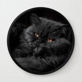 Cat_20180101_by_JAMFoto Wall Clock