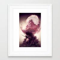 hook Framed Art Prints featuring Hook by Arnaud de Vallois