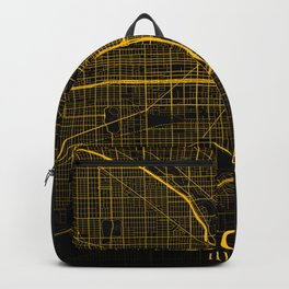 Chicago Illinois City Map | Gold America City Street Map | United States Cities Maps Backpack