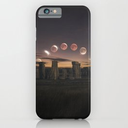 Blood Moon Eclipse, UK iPhone Case