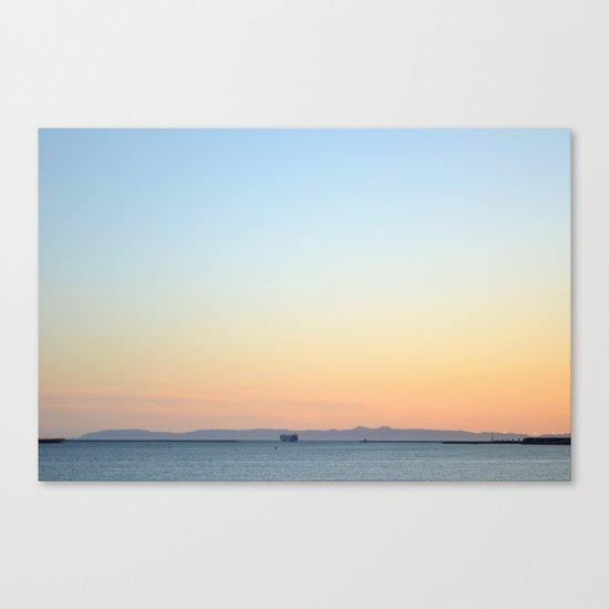 Enter Catalina Canvas Print