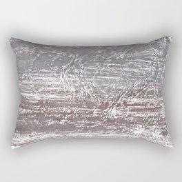 Gray nebulous wash drawing Rectangular Pillow