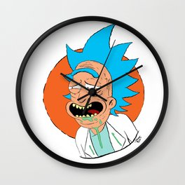 The rickest Rick Wall Clock