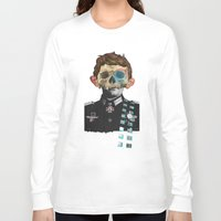 justin timberlake Long Sleeve T-shirts featuring War Collage 2 by Marko Köppe