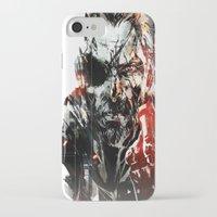 metal gear iPhone & iPod Cases featuring Metal Gear Solid V by Hisham Al Riyami