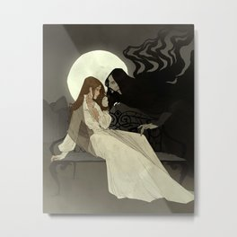 Spells of Shadow Metal Print