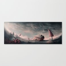 Lost Rabbit Canvas Print