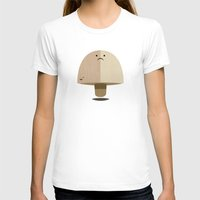 mushroom T-shirts featuring Mushroom by Mister Linus
