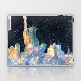 Liberty And New York Cosmos Laptop & iPad Skin