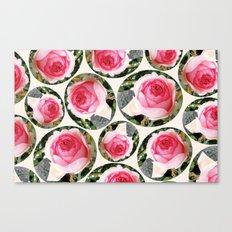 Rosas Canvas Print
