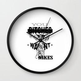 nikes Wall Clock