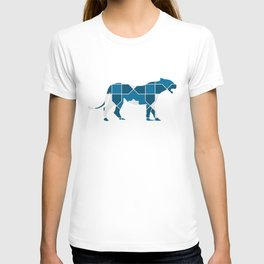 LEOPARD SILHOUETTE WITH PATTERN T-shirt