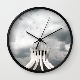 Cathedral   Brasília   Brazil Wall Clock