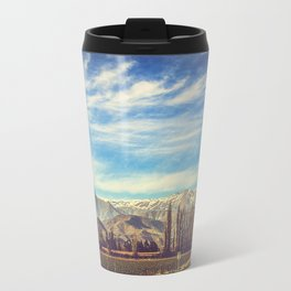 Scenic Mountain Landscape in The Andes Travel Mug