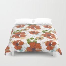 Poppy Bash 2 Duvet Cover