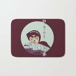 Rock Lee Jutsu Bath Mat
