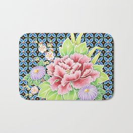 Brocade Bouquet Bath Mat