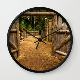 Fort Clatsop - Lewis And Clark Wall Clock