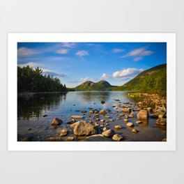 Jordan Pond In Acadia Art Print