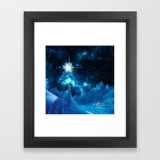 Frozen - Elsa Framed Art Print