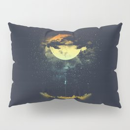 MOON CLIMBING Pillow Sham