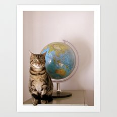 The World Is Not Enough Art Print