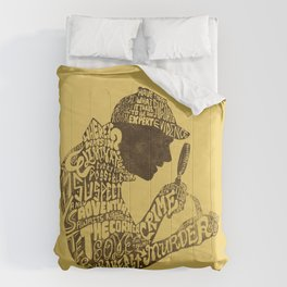 Man of Many Words Comforters
