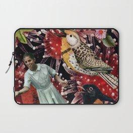 Happy Bird day   Collage Laptop Sleeve