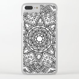 Family: Forever intertwined Clear iPhone Case