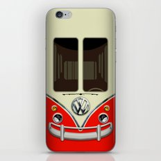 Special Gift for Summer Holiday Red minivan minibus iPhone 4 4s 5 5c 6, pillow case and mugs iPhone & iPod Skin