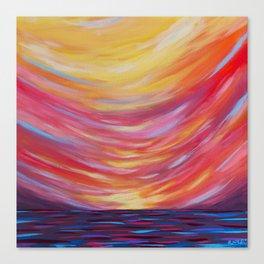 soundside sorbet Canvas Print