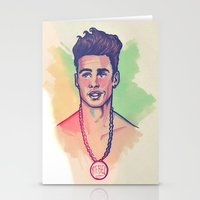 rebel Stationery Cards featuring Rebel by ARTBYSKINGS