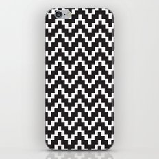 Pattern in Black and White iPhone & iPod Skin