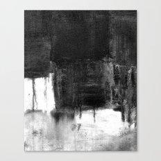melt into darkness Canvas Print