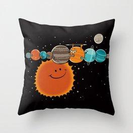 Zer0 Distance Hugz Throw Pillow